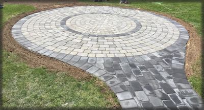 Paved Patio areas